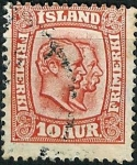 Stamps Iceland -  Federico VIII y Cristian IX