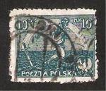 Stamps : Europe : Poland :  sembrador