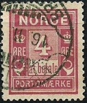 Stamps Norway -  Sello de tasa