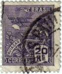 Stamps Brazil -  Aviaçao. Brasil