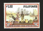 Stamps of the world : Philippines :  hongkong y shanghai bancos en manila