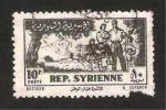 Stamps Asia - Syria -  la familia en el campo
