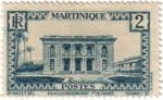 sellos de Europa - Francia -  Martinique. República Francesa