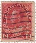 Sellos de America - Canadá -  Jorge V. Canadá postage
