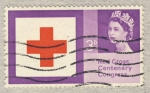 Stamps United Kingdom -  Red Cross Centenary Congress