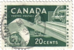 Stamps Canada -  Pulp and paper. Canadá