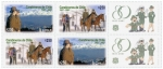 Stamps of the world : Chile :  80 años carabineros de chile