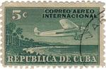 sellos de America - Cuba -  Correo aéreo nacional. República de Cuba