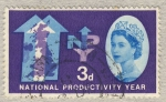 Stamps United Kingdom -  National Productivity Year