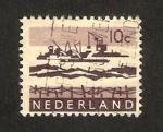 Stamps Netherlands -  Dragando en el delta