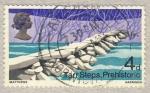 Sellos de Europa - Reino Unido -  Puentes Britanicos Tarr Steps , prehistorico