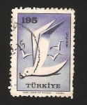 Stamps : Asia : Turkey :  gaviotas