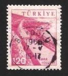 Stamps Asia - Turkey -  kara yollari