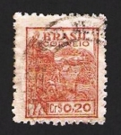 Stamps : America : Brazil :  campo de trigo