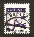 Stamps Brazil -  flora, cabolla