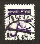 Stamps : America : Brazil :  flora, cabolla