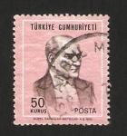Sellos del Mundo : Asia : Turquía : mustafa kemal ataturk, presidente