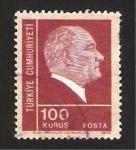 Stamps : Asia : Turkey :  Presidente Mustafá Kemal Ataturk