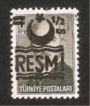 Stamps : Asia : Turkey :  ismet inonu