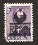 Sellos de Asia - Turquía -  ismet inonu, politico