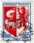sellos de Europa - Francia -  Escudo. República Francesa