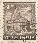 Stamps India -  SOMNATH TEMPLE