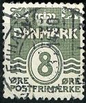 Stamps Denmark -  Tipos de 1905 y 1927-30,grabados