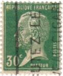 sellos de Europa - Francia -  Louis Pasteur. República Francesa