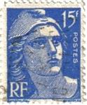 sellos de Europa - Francia -  Postes. República Francesa