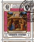 Stamps Yemen -  1969 Vida de Cristo: Fra Angelico,