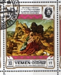 Stamps Yemen -  1969 Vida de Cristo: Joos Van Cleve,