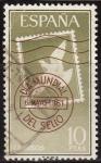 Sellos de Europa - España -  ESPAÑA 1961 1350 Sello Día Mundial del Sello Paloma de la Paz usado Yvert1023