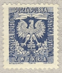 Stamps of the world : Poland :  Escudo aguila