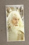 Stamps Oceania - New Zealand -  Personajes del film El Señor de los Anillos