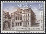 Stamps Spain -  125 Aniv.º  del Gran Teatro del Liceo.