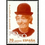 Sellos del Mundo : Europa : España : ESPAÑA 1998 3547 Sello Nuevo Personajes Famosos Alfonso Aragon Fofo