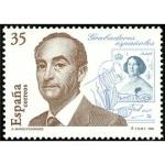 Stamps Spain -  ESPAÑA 1998 3550 Sello Nuevo Grabadores Españoles Antonio Manso