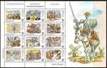 sellos de Europa - España -  ESPAÑA 1998 3584 Sellos Nuevos Conferencia Episcopal El Quijote de A. Mingote MP61A
