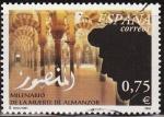 Stamps Spain -  ESPAÑA 2002 3934 Sello º Milenario muerte Almanzor. Interior mezquita Córdoba