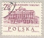 Stamps Poland -  Palacio Staszica-Siedziba