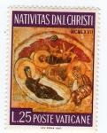 Stamps Europe - Vatican City -  nativitas d.n.i. christi