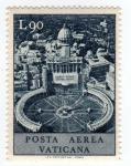 Stamps Europe - Vatican City -  posta aerea vaticana