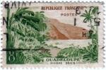 sellos de Europa - Francia -  Guadeloupe riviere sens. República Francesa