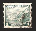 Sellos del Mundo : America : Chile :  laguna del inca