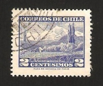 Stamps : America : Chile :  volcan choshuenco
