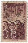 Stamps France -  Mineurs. República Francesa