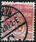 Stamps Denmark -  Cifra