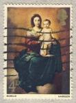 Sellos de Europa - Reino Unido -  Pinturas de la Navidad  Murillo