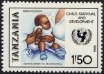Stamps Tanzania -  Niños