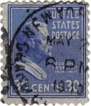 Stamps United States -  Theodore Roosevelt. 1901-1909